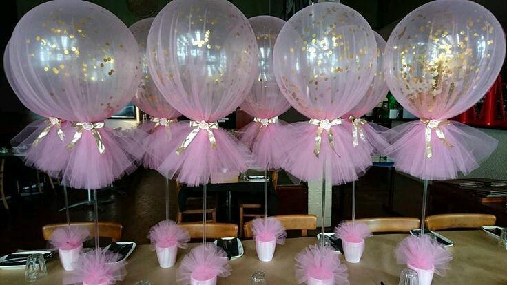 Centros de mesa con globos (4)