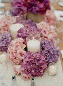 Centros de mesa para quinceanera con velas (2)
