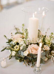 Centros de mesa para quinceanera con velas (3)
