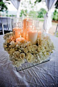 Centros de mesa para quinceanera con velas (4)