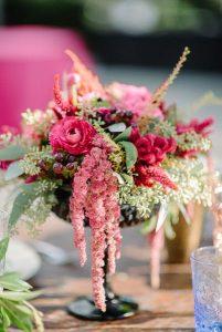 Centros de mesa rosa (1)