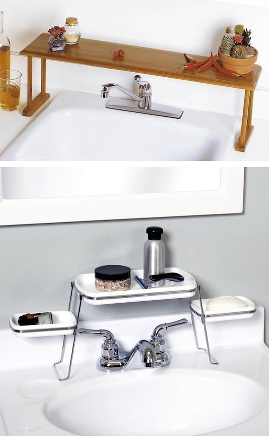 Ahorrar espacio en banos decoracion de interiores for Repisas para banos pequenos