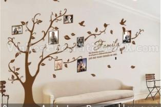 Vinil Decorativos de Arbol para Fotos Familiares