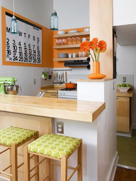Cocinas Chicas Como Organizar La Casa Fachadas
