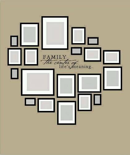 Como decorar con fotografias familiares decoracion de - Ideas para decorar con fotos ...