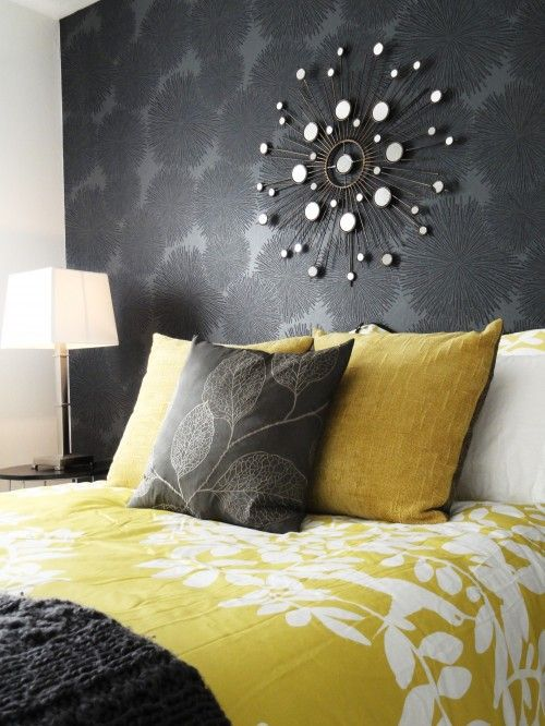 Ideas para decoracion Gris y Amarillo