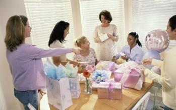 como organizar baby shower