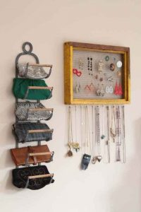 How to organize purses and wallets