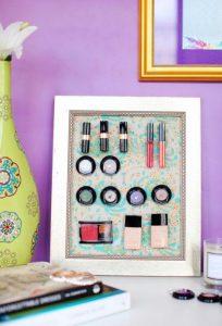 como organizar el maquillaje
