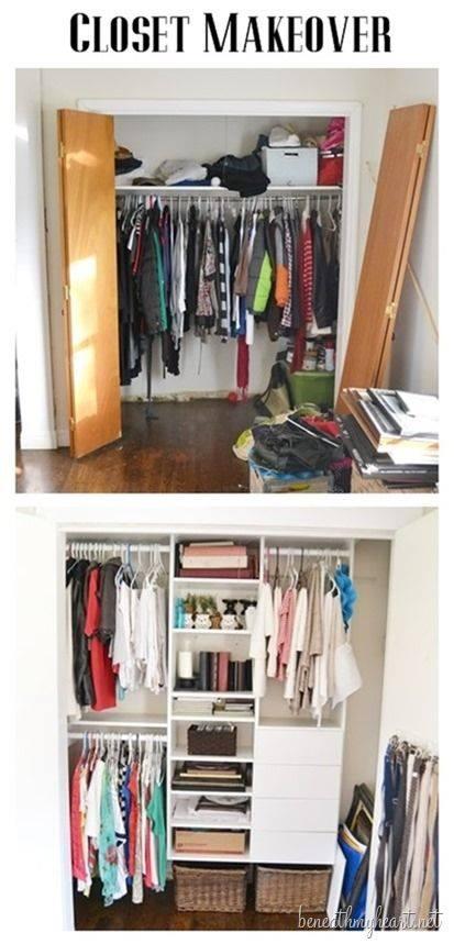 ideas para organizar mi closet