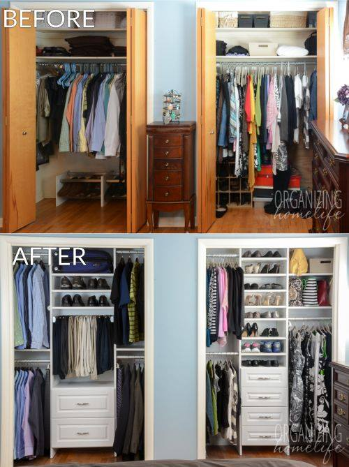 Como organizar mi closet 4 decoracion de interiores fachadas para casas como organizar la casa - Ideas para organizar el armario ...
