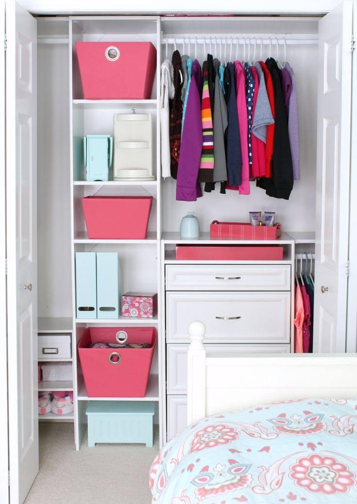 Como organizar mi closet - Organizar armarios empotrados ...