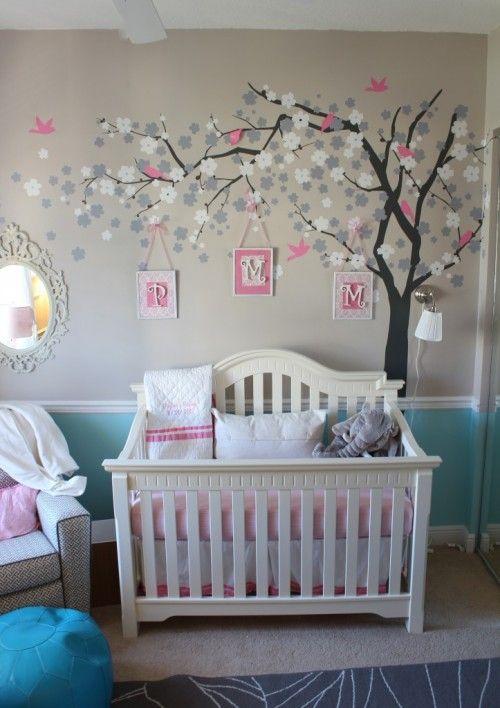 decoracion-de-habitacion-con-vinilos-decorativos | Como Organizar la ...