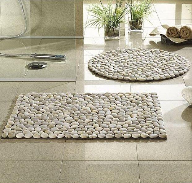 Ideas tapetes de piedras