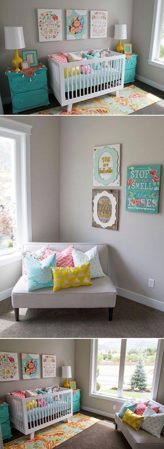 Decorar habitacion para nina recien nacida decoracion de - Decorar habitacion nina ...