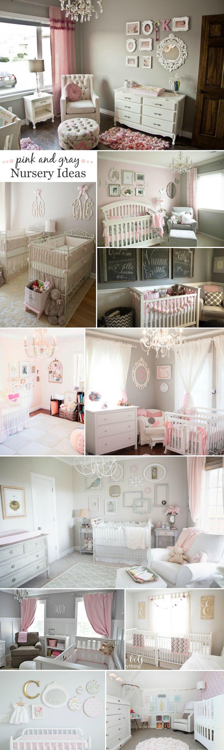 Decoracion de habitacion para niña recien nacida