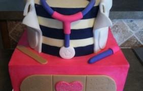 Pasteles para Fiesta de Doctora Juguetes