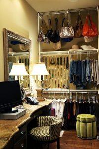 Organizar Bolsas en el tubo del closet