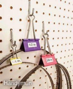 Ideas para Organizar utilizando un Clip