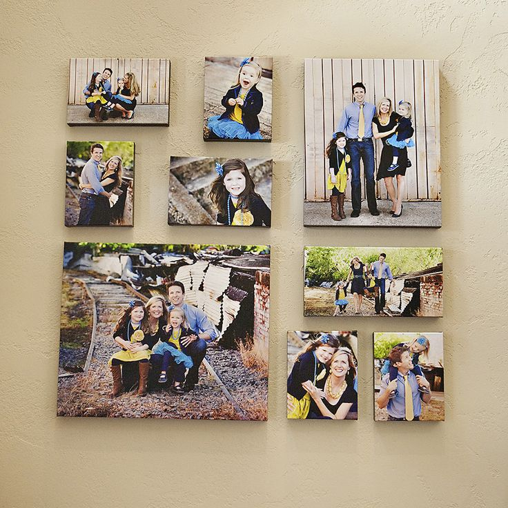 Ideas para decorar con fotos de familia - Ideas para decorar con fotos ...