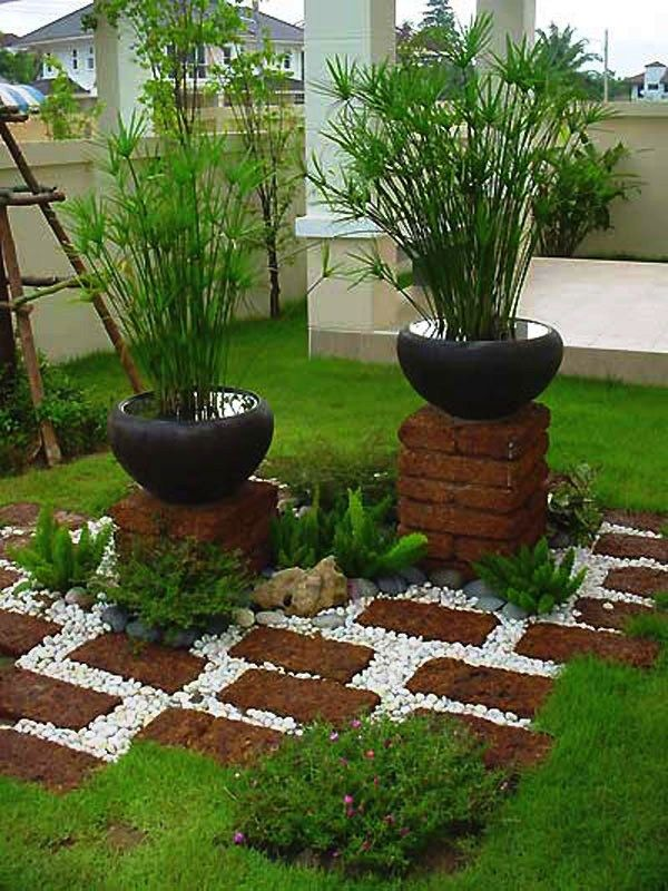 Idées pour l'organisation de jardin