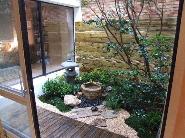 Ideas para organizar el jardin 17 decoracion de for Cocinas con vista al jardin