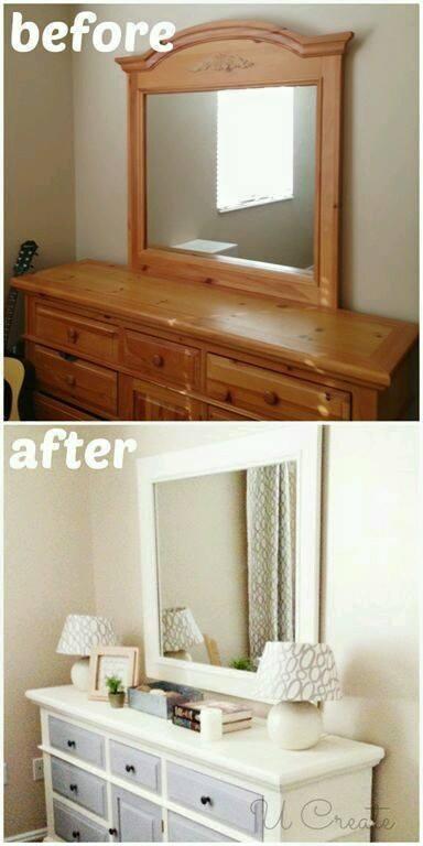 Ideas para renovar nuestros muebles ideas f ciles y economicas - Restaurar muebles de madera barnizados ...