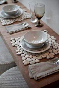 Como Hacer Individuales de piedra para la mesa