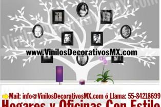 Vinilos de Arbol para Decorar con Fotos
