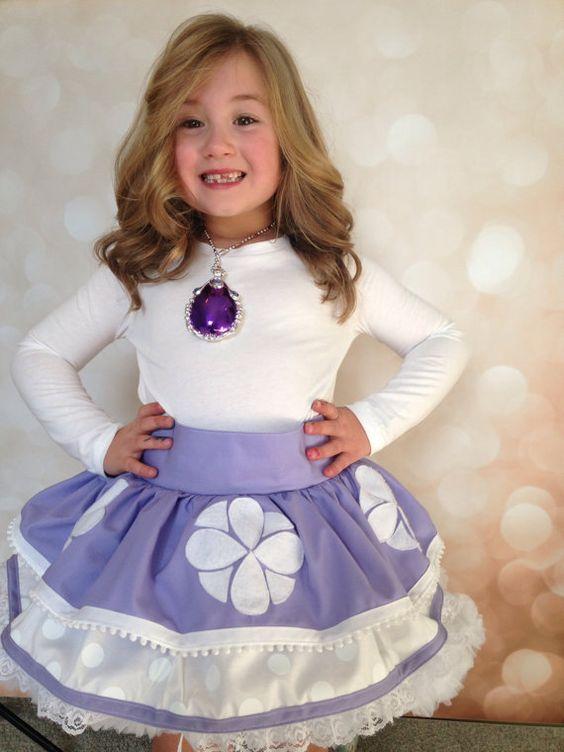 Como Vestir A Una Niña En Una Fiesta De Princesita Sofia