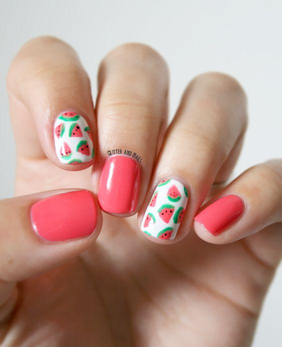 Ideas para decoracion de uñas para verano (1) | Decoracion de ...