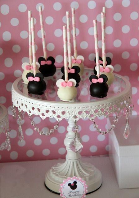 table de desserts anniversaire Minnie