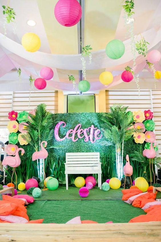 Temas de fiestas para ni a de 150 ideas diferentes - Como adornar una fiesta de cumpleanos ...