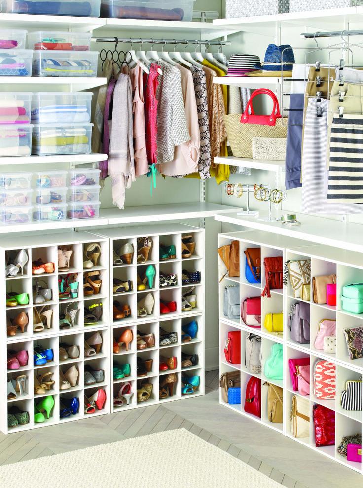 Como organizar carteras y bolsos - Como guardar los bolsos ordenados ...
