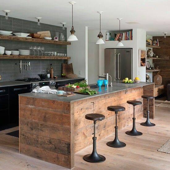 como-organizar-comedores-rusticos | Decoracion de interiores ...
