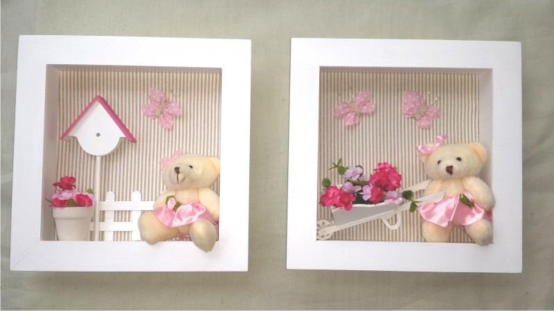 Cuadros con profundidad bebes decoracion de interiores - Cuadros para habitacion de bebe ...