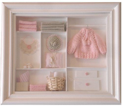 Cuadros miniatura para bebes decoracion de interiores - Cuadros para habitacion bebe ...