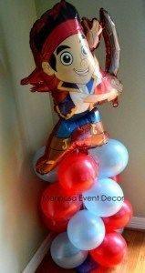 decoracion-con-globos-jake-y-los-pirata-de-nunca-jamas