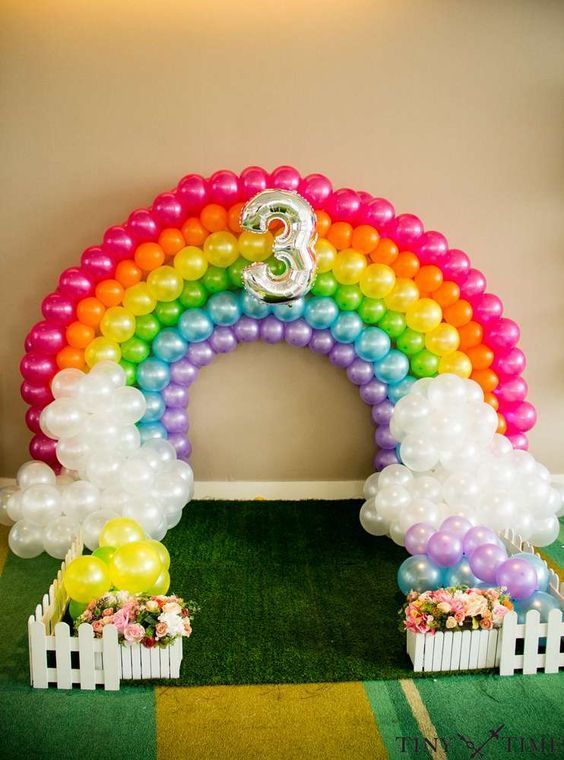 Temas de fiestas para ni a de 150 ideas diferentes - Decoracion cumpleanos 1 ano ...