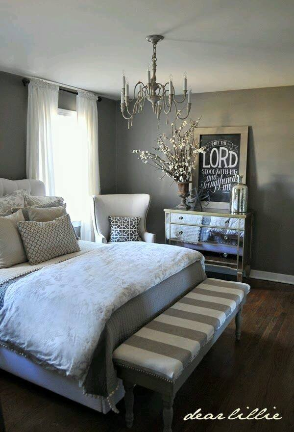 Decoracion de recamaras gris decoracion de interiores for Luxurious master bedroom decorating ideas 2012