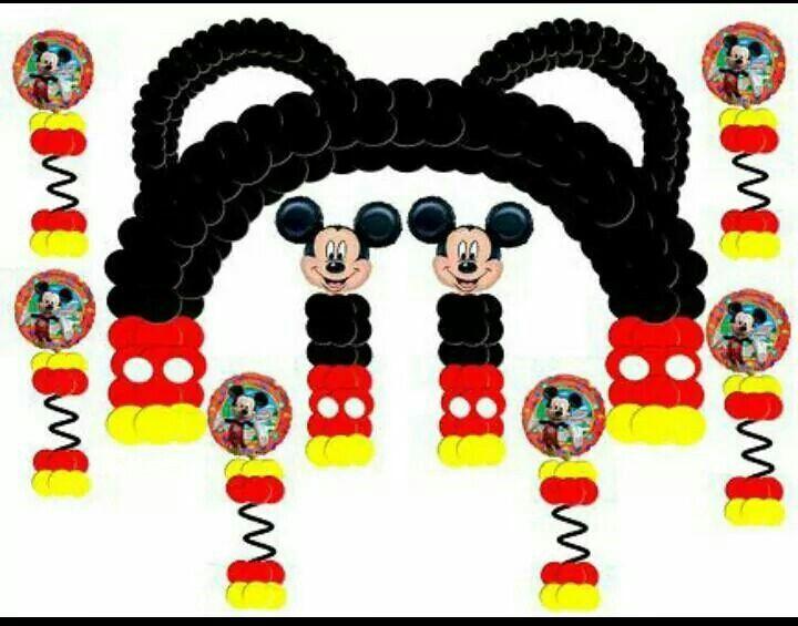 Decoracion para fiesta de mickey mouse - Decoracion para fiestas infantiles mickey mouse ...