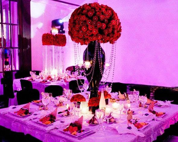 Decoraciones de mesa boda 50 for Decoracion 40 aniversario de bodas