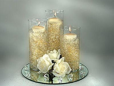 Decorason de velas boda 50 decoracion de interiores for Arreglos decorativos para hogar