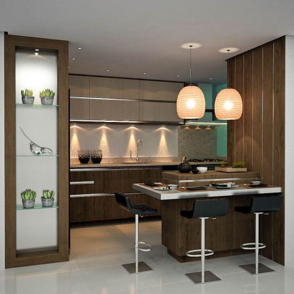 Desayunadores con sillas altas 4 decoracion de - Sillas para cocinas modernas ...