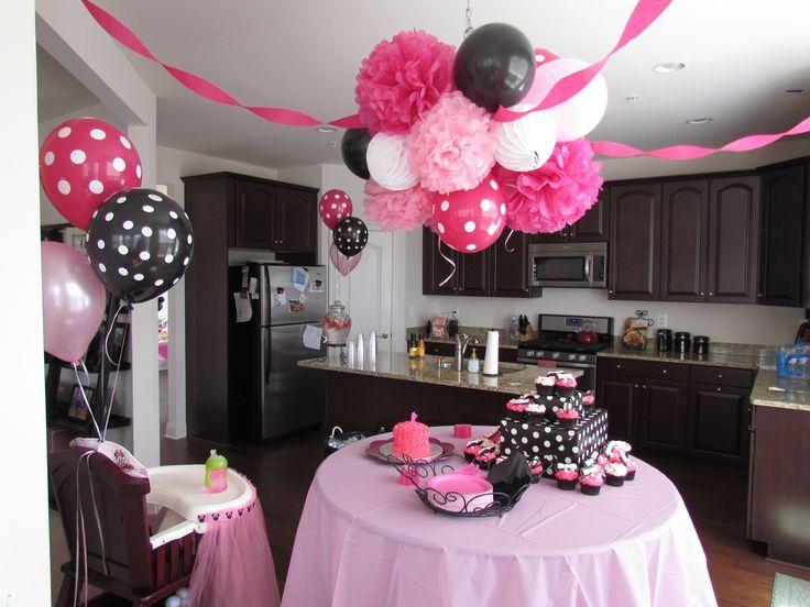 Fiesta cumple minnie decoracion de interiores fachadas - Decoracion fiesta rosa ...
