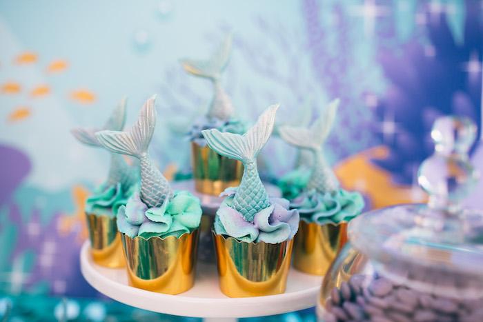 fiesta de sirena para 1 año niña