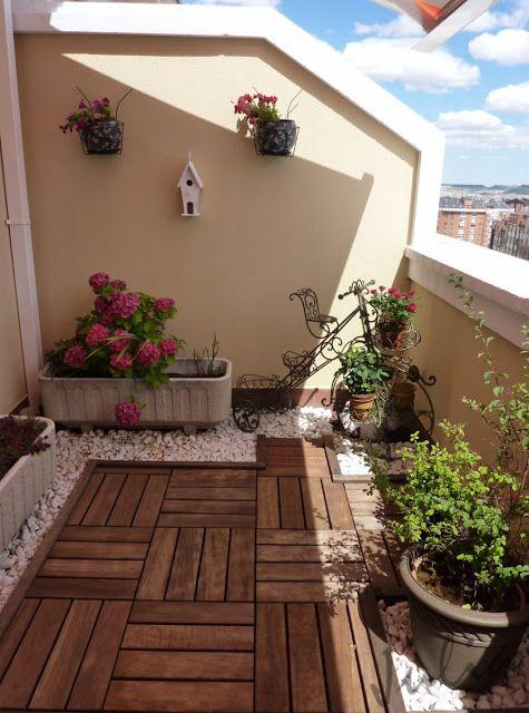 Fotos de terrazas como organizar la casa fachadas for Para desarrollar su apartamento con terraza