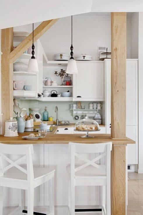 Ideas cocinas pequeñas | Como Organizar la Casa | Fachadas ...