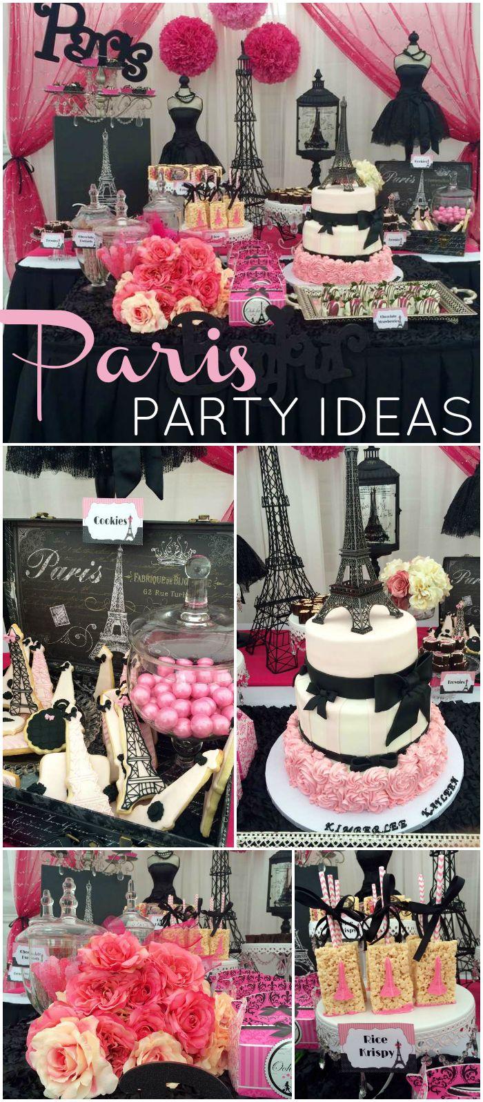 Ideas de mesa de postres tipo paris para fiesta de xv a os for Decoracion de interiores paris