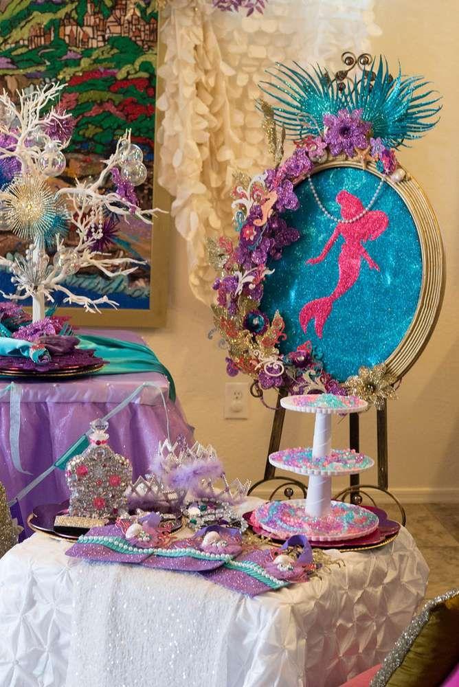 Ideas fiesta la sirenita 15 decoracion de interiores - Ideas para fiestas en casa ...